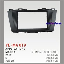 2 DIN ABS Frame Panel Fascia For Mazda 5 2011 Aftermarket Car Stereo Radio DVD Player GPS Navi Installation(China)