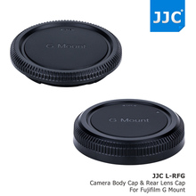 Buy JJC Body Cap & Rear Lens Caps Fujifilm G Mount Camera Lens replaces Fujifilm BCP-002 Body Cap RLCP-002 Rear Lens Cap for $9.99 in AliExpress store