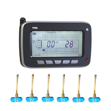 Tire Pressure Monitoring System for Passenger Vehicle Truck & bus Internal Sensors Car Security System(China)