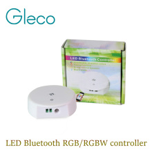 NEW UFO DC12-24V 4A*4CH LED Bluetooth controller RGB/RGBW,Timing function,group control,music mode,4.0 IOS/Android