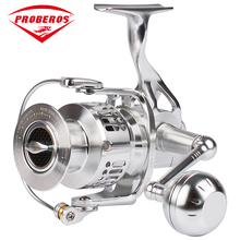 PRO BEROS Aluminum Alloy Fishing Reel CNC processing 6000 Spinning Reel14+1BB Stainless Steel Bearing Anti-seawater Jigging Reel(China)