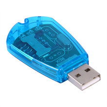 SIM Card Reader USB Cellphone Standard Copy Cloner Writer SMS Backup GSM/CDMA+CD Support Windows XP/ Windows Vista/ Windows 7