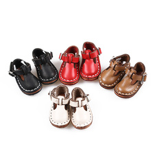 1 Pair New Style Leather 30cm Lovely Mini Doll Shoes for 1/6 BJD Joint Blyth Spring/Autumn Doll Shoe Doll Dress Up Accessories(China)