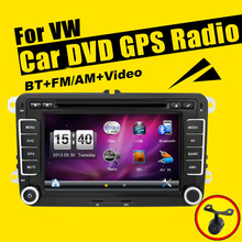 "New 7"" 2din Car DVD GPS RDS USB For VW GOLF 4 GOLF 5 6 POLO PASSATCC JETTA TIGUAN TOURAN EOS SHARAN SCIROCCO T5 CADDY with GPS(China)"