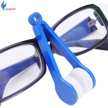 New Coming 4Pcs Mini Portable Glasses Brushes Eyeglass Sunglasses Spectacles Microfiber Cleaner Brushes Glass Cleaning Tools