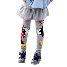 VORO BEVE 2017 New Girls Leggings Children Leggings Girls Pants Character Kids Pant skirt Baby Girls Dress Leggings