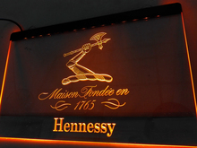 LE186- Hennessy XO 1765 Bar Pub Club   LED Neon Light Sign   home decor  crafts