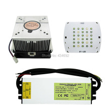 DIY Led Lamp Light Cree XPE XP-E 450nm 470nm 7000k + Epileds 430nm UV Led Lamp Light + 60W Led Driver + 60W Led Heatsink