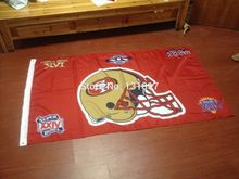49ers helmet superbowl flag(China)
