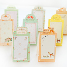 6 pcs/Lot Romantic dream sticky notes Flower memo pad post it sticker Stationery Office accessories School supplies 6970