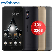 "uleFone Gemini 4G Smartphone MTK6737T Quad Core 5.5""1920*1080P Android 6.0 3GB+32GB Dual Back Cameras 3250mAh Mobile Phone"