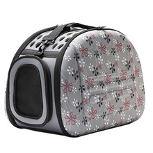 2017 New Pet Carrier Travel Collapsible Puppy Tote Lightweight Cat Shoulder Bag Outdoor Airline Approved Small Dogs Handbag Y6(China)