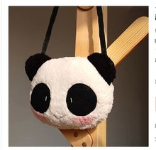 2017 Cute Cartoon Panda Purses And Handbags Female Neverfull Shoulder Bags Diagonal Women Messenger Shoulder Bag