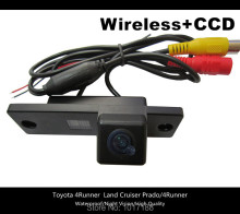 HD!! WIFI camera Wireless Car Rear View Camera CCD Chip For Toyota 4 Runner  Land Cruiser Prado 4 RUNNER 2