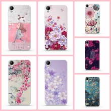 for HTC 825 Case Covers Luxury 3D Relief Painting Cases for HTC Desire 825 Back Cover Silicon Soft TPU Phone Protector Cases