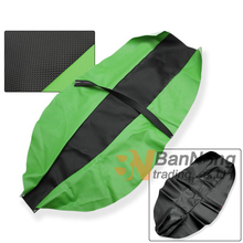Motorcycle PU Seat Cushion Guard Cover Protection Seat Covers For Kawasaki KLX250 KLX400 KL250 SUPER SHERPA KDX125 KDX200 KLX(China)
