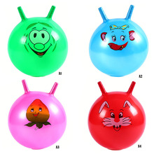 Kids baby Inflatable Bouncing Balls Sport Toy Cartoon Educational Toy Balls P0.5(China)