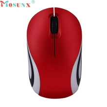mosunx E5  Cute Mini 2.4 GHz Wireless Optical Mouse Mice For PC Laptop Notebook