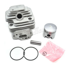 360 Brush Cutter Cylinder Kit with Piston and Ring for 33CC 1E36F Engine Garden Tool Parts(China)