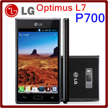 Original Unlocked LG Optimus L7 P700 GPS WIFI 5MP 4GB ROM 4.3 Inches Android OS v4.0.3 Smartphone Free Shipping(China)
