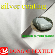 silver oxford fabric, waterproof car cover fabric,composite polyeter padding Sun heat insulation heat preservation material