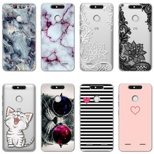 Case ZTE Blade Nubia M2 L3 L5 L7 AF3 A6 A610 Z10 V8 Z17 Z18 Mini Case Silicone Ultra Thin Soft TPU Clear bags Print Cover