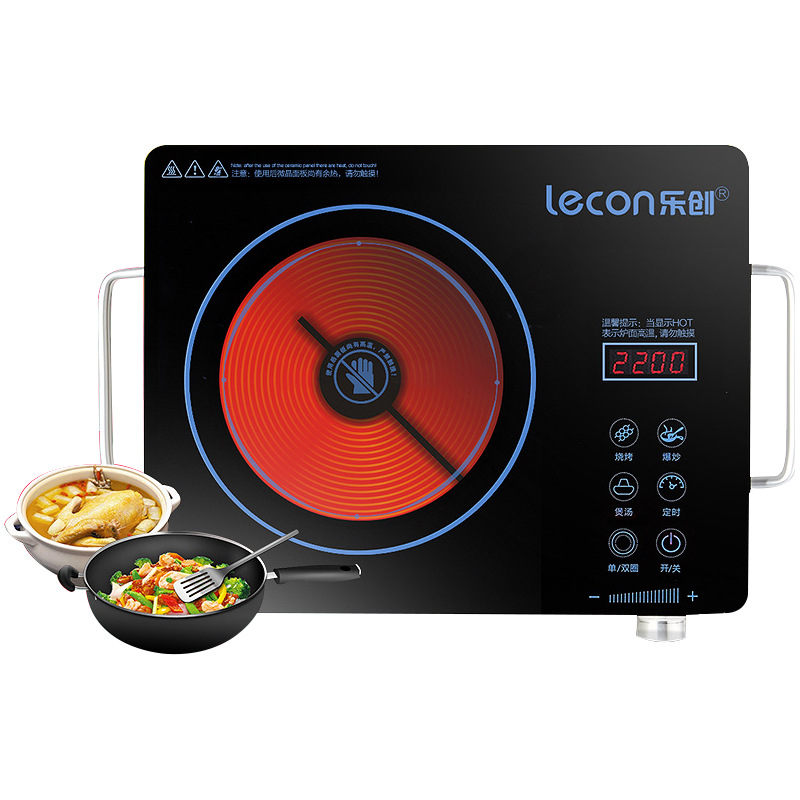 Lecon electric stove ceramic cooker genuine radiation oven Germany household mute LC10T-1<br><br>Aliexpress