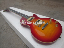 free shipping lp slash guitar+maple flame/electric guitar/guitar in china(China)