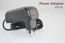 DC 12V 1A Power Adapter EU/US/UK/AU plug for security surveillance cctv camera analog or ip cameras power supply(China)