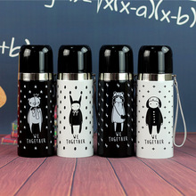 High quality double - layer Thermal Mug Portable bullet Cup Vacuum flask Termo home office Water Thermos Bottle Mug Gift tumbler