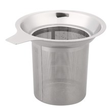 Stainless Steel Mesh Tea Mesh Tea Infuser Reusable Strainer Loose Tea Leaf Spice Stainless Steel Filter Tea Strainer