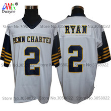 2017 Vintage Cheap American Football Jersey Matt Ryan 2 William Pen n Charter School Throwback jerseys Retro Stitched Shirts(China)