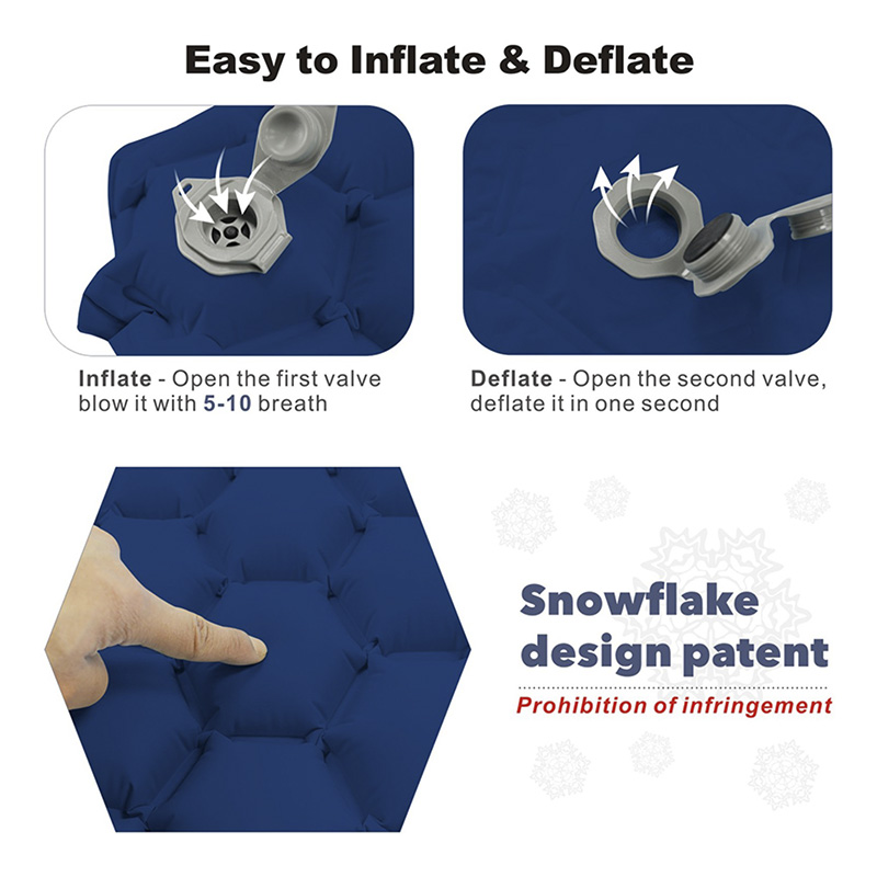 Inflatable sleeping pad 4