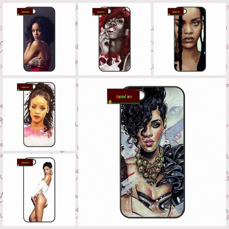 Robyn Rihanna Talk That Talk Cover case for iphone 4 4s 5 5s 5c 6 6s plus samsung galaxy S3 S4 mini S5 S6 Note 2 3 4  DE0189