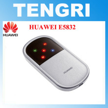 Original Unlocked HUAWEI E5832 7.2Mbps portable 3G wireless router mobile hotspot HSPA / UMTS 2100MHz(China)