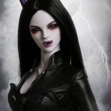 OUENEIFS Vampire Stella fid bjd sd doll 1/4 body model reborn High Quality toys makeup shop iple house soom fl jiont doll wigs(China)