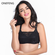 Buy ONEFENG Size 75-95ABC Silicone Breast Form Bra Designed Pockets Bra Artificial Prosthesis Breast Cancer Women