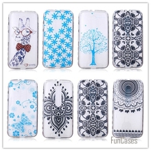 New Soft TPU Case Phone For Motorola Moto Bike G3 G 3rd Gen  Ultra-Thin Cartoon Gel Painting Back Covers