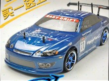 Free shipping HSP 1 10 RC car electric car rc drift car 94123 (PRO) with brush + car remote control(China)