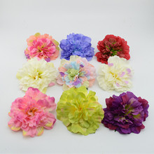 11cm (10 pcs)Home accessories artificial flower dahlia silk flower bags diy hat flower decoration flower