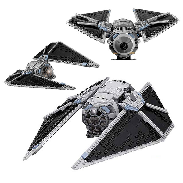 LEPIN 05048 Movie TIE Striker TIE Pilot Trooper Mobile Building Block Bricks Children For Gift 75154<br>