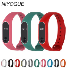 Buy Original NIYOQUE Dual Color Strap Xiaomi Mi Band 2 Multiple Bracelet Change Optional Beautiful Stylish Xiaomi miband for $0.99 in AliExpress store
