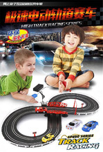 High track racing car games slot toys electric rail car slot toys for children and parents classic kids toys