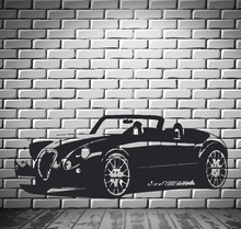 Convertible Driver Car Wall Stickers Motor Vehicle Mural Wall Art Decor Vinyl Sticker Available In Different Colors Poster SA813