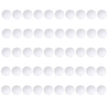 50pcs Golf Practice Balls Plastic Hollow Out Sports Training Tennis White Round Golf Balls Accessories New Promotion Wholesale(China)