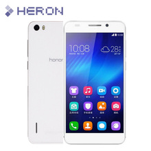 2 pcs/lot One Front One Back 0.3mm Tempered Glass for Huawei Honor 6 2.5D Arc Edge 9H Hard Screen Protector with Clean Tools