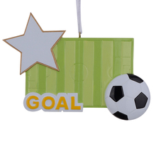 Football Field Sports Resin Craft Christmas Ornaments as Handcraft Souvenir Personalized Gifts For Player Fans(China)