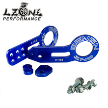 LZONE RACING - BENEN FRONT REAR TOW HOOKS SET UNIVERSAL FOR HONDA FOR CIVIC FOR ACURA INTEGRA JR-THB31+THB41