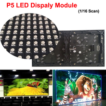 P5 5mm Video LED Display Module 64*32 pixels 1/16 Scan Premium Quality SMD Led Display Module Programmable Led Signs