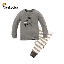 TINOLULING Children Clothes Kids Clothing Set Boys Pajamas Sets Cars Styling Nightwear Print Pajamas Girls Sleepwear Baby Pyjama(China)